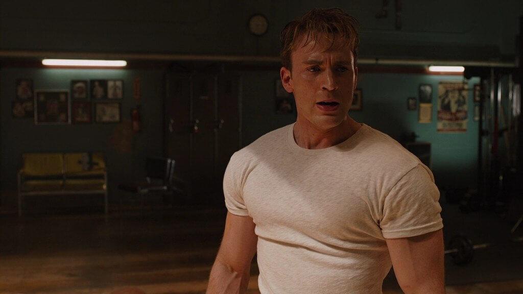 Chris Evans Workout Ro...