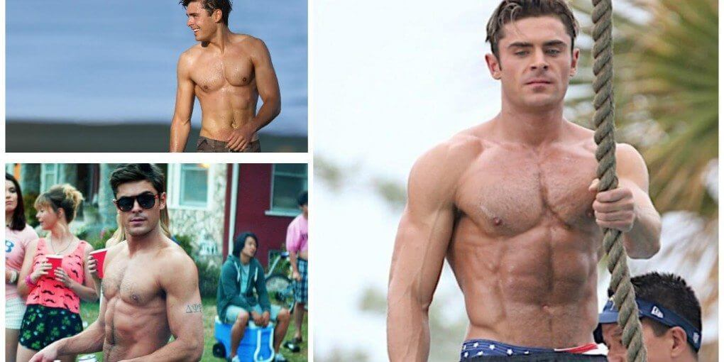 zac efron workout baywatch