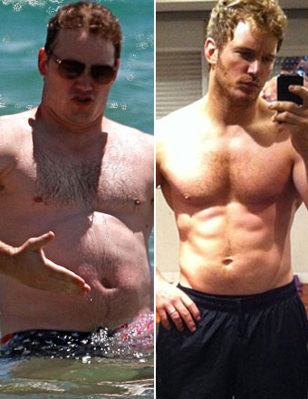 Chris pratt training
