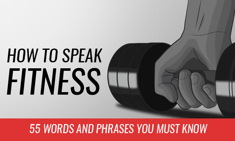 how to speak fitness lingo